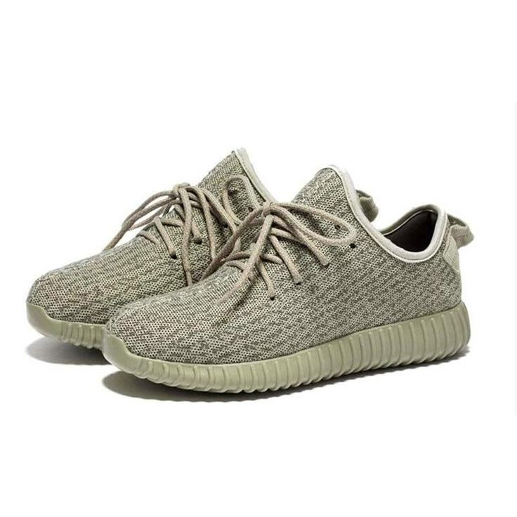 yeezy 350 boost men women shoes moonrock