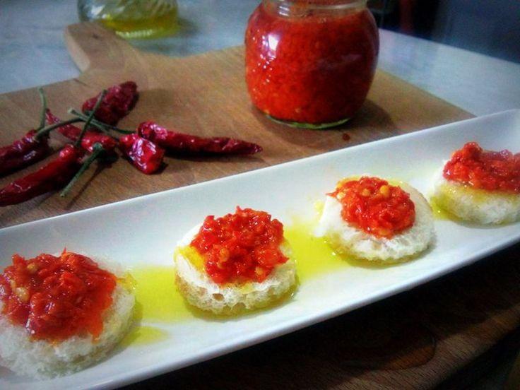 Conserva: Crema di Peperoncino
