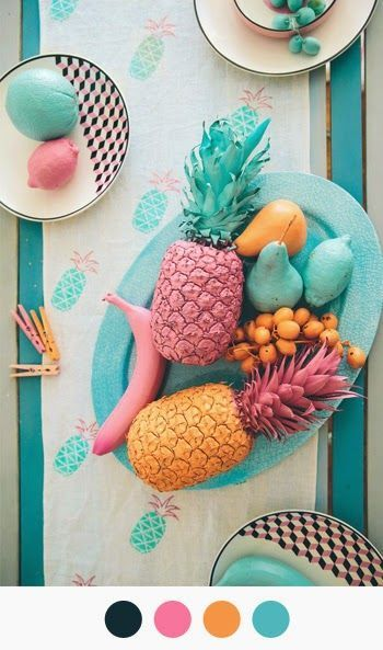 bright fruity palette for spring
