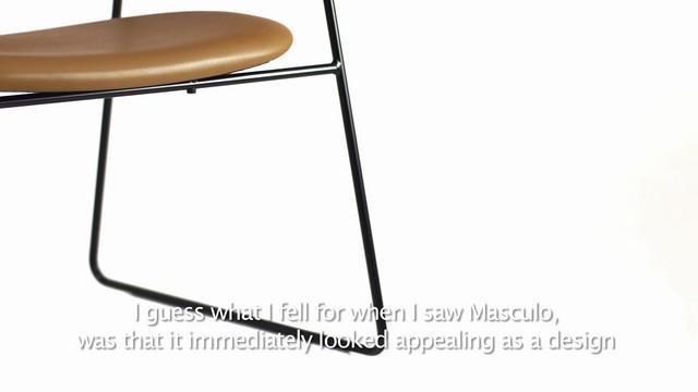 Masculo Chair by Gamfratesi by Gubi