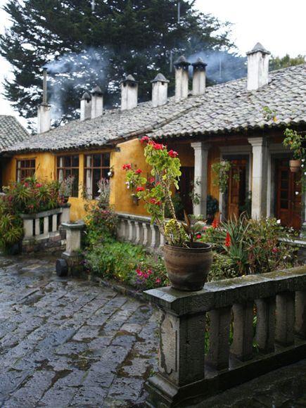 Hacienda Ecuador http://www.southamericaperutours.com/southamerica/12-days-wonders-of-machu-picchu-and-galapagos.html