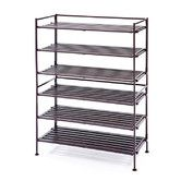 Found it at Wayfair - Resin-Wood Composite Utility Shoe Rack