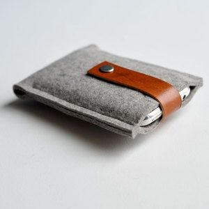 iPod case made from felted wool. I like the story of how this company got started!: