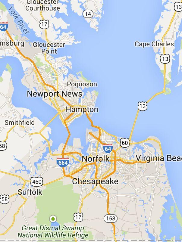 Hampton Roads Tunnels and Bridges