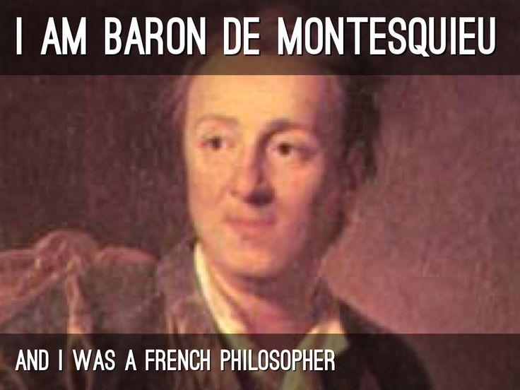 baron de montesquieu philosophy Google Search Age of