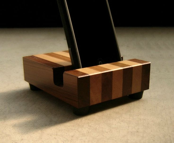 iPad Mini Docking Station in Reclaimed Wood | $37.00