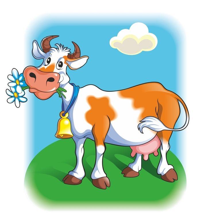 картинка из сказок корова правильно наносить тени