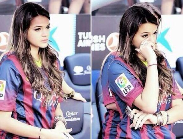 Neymars girlfriend