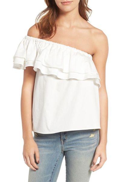 25 One-Shoulder Tops to Shop for Spring | StyleCaster