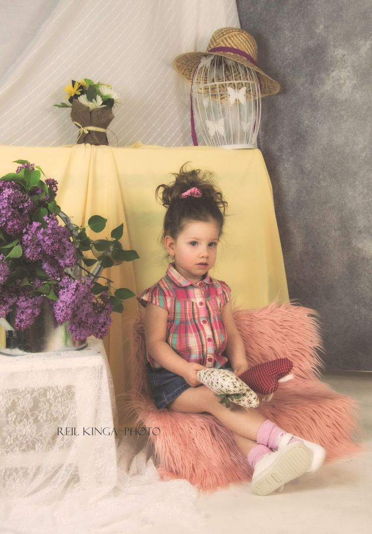 #children #girl #cute #nice #flower #vintage