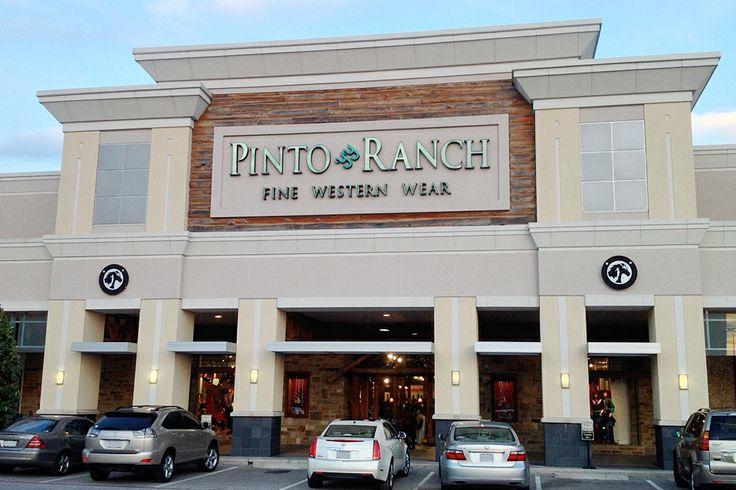 Pinto Ranch Houston store front in Post Oak Plaza on Post Oak Blvd and San Felipe