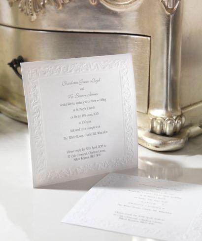 Romance Day Invitation   Wedding Invitations