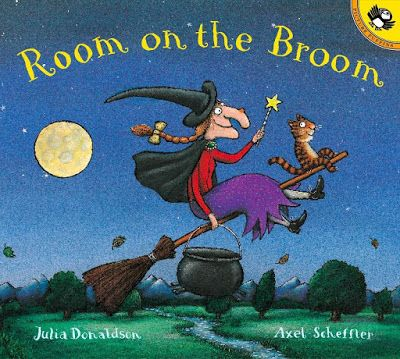 Room On The Broom, part of Julia Donaldon book review list with crafts, activities and other resources