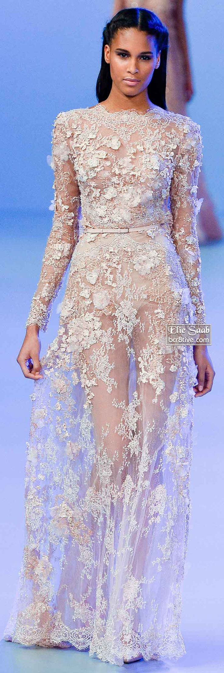 Angelical. Elie Saab Spring 2014 Couture Collection