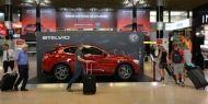A JCDecaux Airport desvenda o novo Alfa Romeo