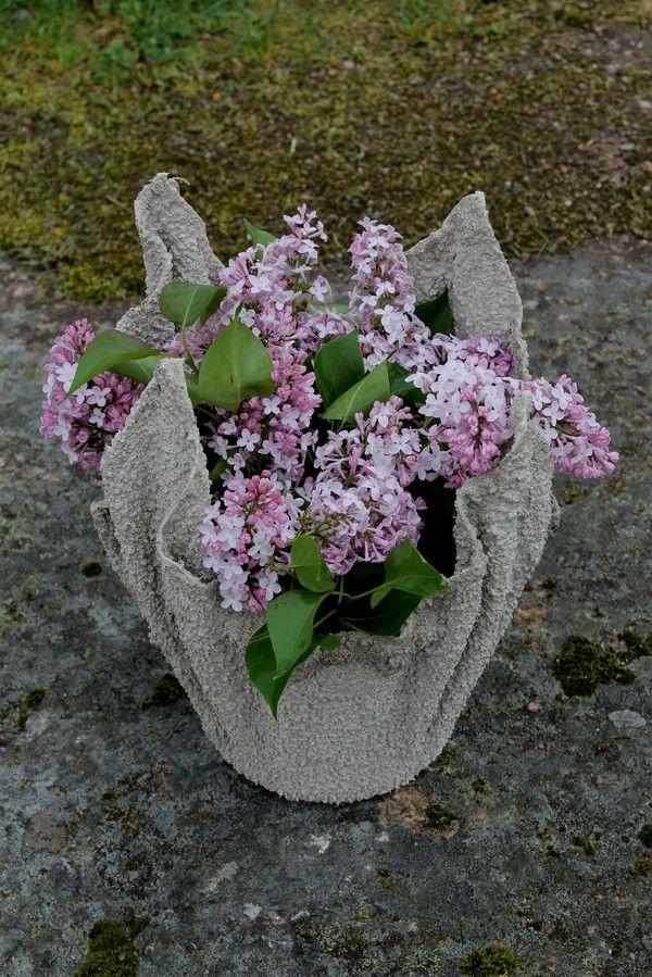Mostermiasfyndigheter creative concrete hypertufa for Garden pots portland
