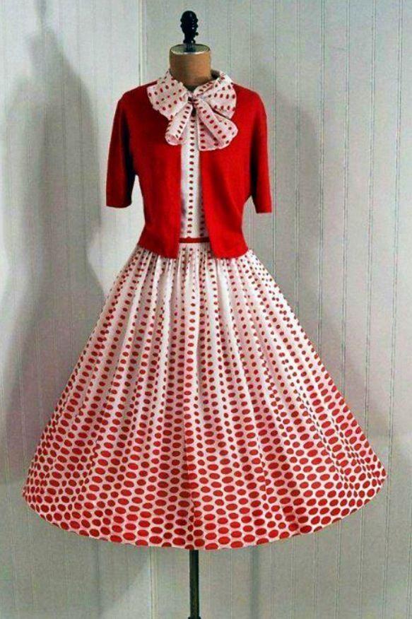 vintage dress ❤️