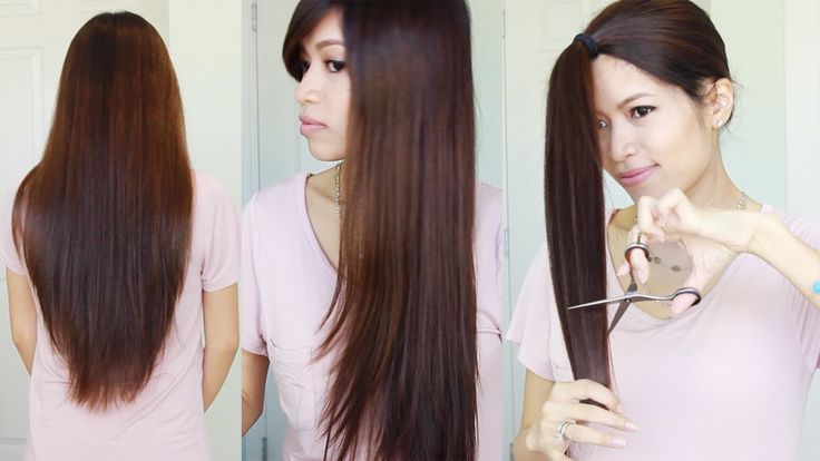 The Best Hair Hack ♥ How to Cut & Layer Your Hair at Home