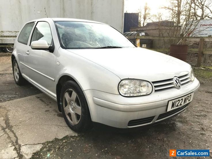 2000 VOLKSWAGEN GT TDI SILVER 2 PREVIOUS OWNERS RECONDITIONED ENGINE #vwvolkswagen #golf #forsale #unitedkingdom