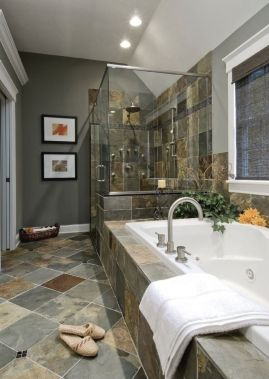 98 best images about bathroom on pinterest master - How to clean old bathroom floor tiles ...