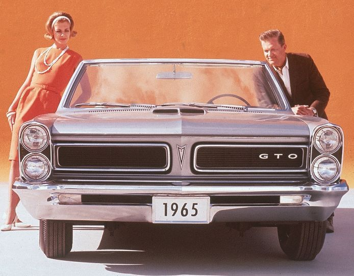 What We Were Driving 50 Years Ago: Cars Of 1965   If You Were Lucky You  Might Have Been Driving This Pontiac GTO. | Ad Auto | Pinterest | Cars, ...