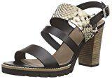 BULLBOXER 833E2L002 Damen Offene Sandalen mit Blockabsatz