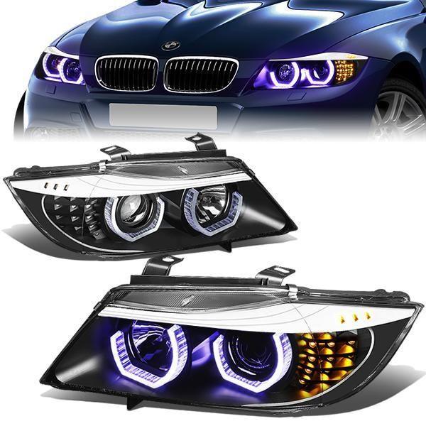 H7 Fits For BMW E36 325 tds 328i M3 3.0 LED Headlight High Low Beam Bulbs