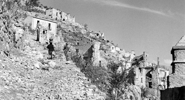 Ciociaria Picinisco Italy 1940s