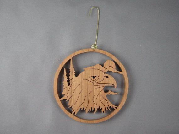 Tête d'aigle par jimswoodstudio sur Etsy