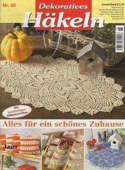 MAGAZINE: Crochet magazine ♥LCB-MRS♥ with diagrams.