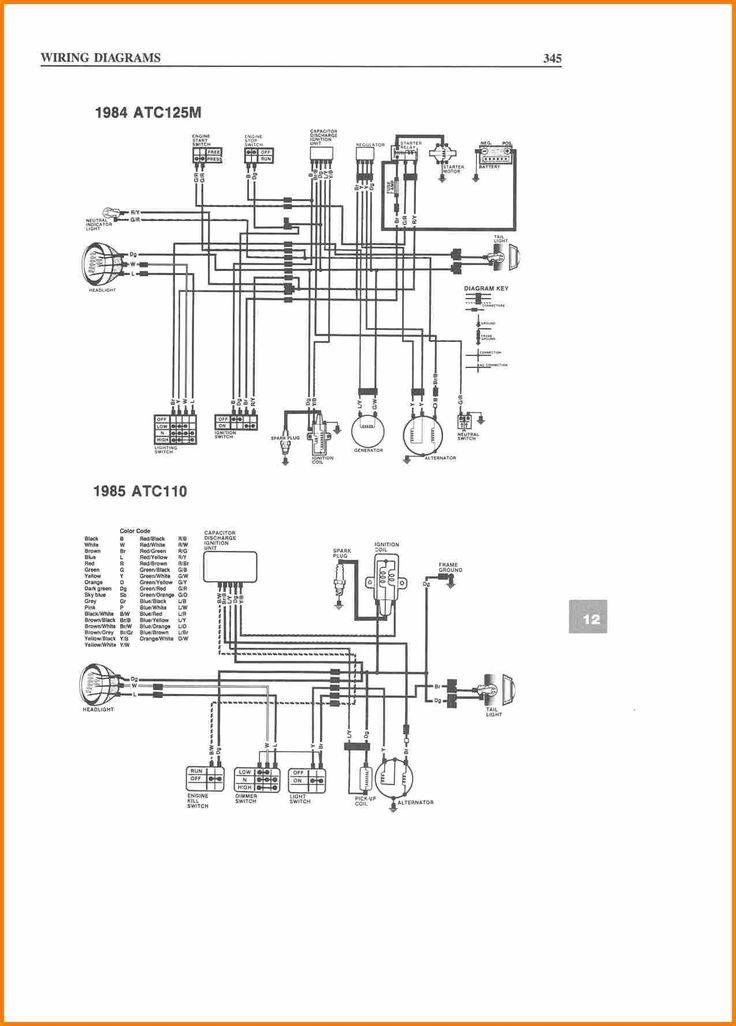 Taotao 125 atv Wiring Diagram Collection in 2020