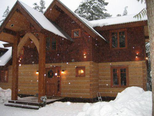 Drumkeeran House near Pemberton, Whistler Canada
