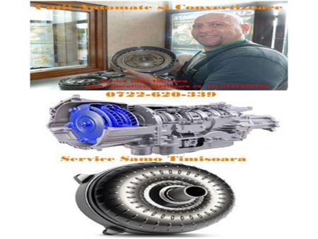 Societatea noastra este specializata de peste 20 de ani in reparatia de cutii automate si convertizoare. Cu peste 20 de ani de experienta, am tinut intotdeauna pasul cu toti producatorii auto cit si cu cele mai noi tehnologii de service in domeniul reparatiilor de convertizoare si a cutiilor automate de la toti producatorii auto.
