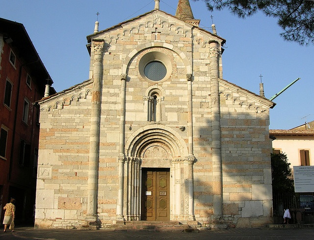 The Catholic Church where my grandparent's were married. Toscolano, Italy in the early 1900's.