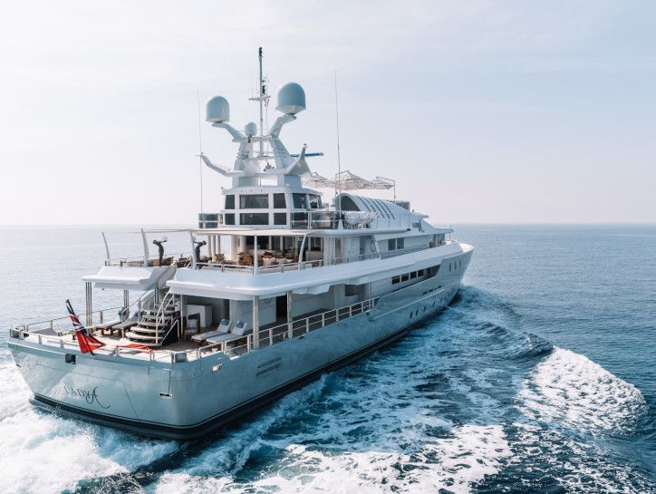 Lord Alan Sugar lists his 55m yacht for sale - Yacht Harbour