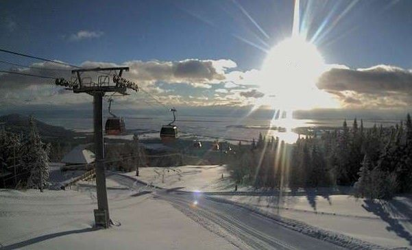 Mont Sainte Anne, Quebec, Canada - where my heart fell in love with the mountains.