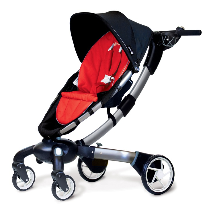 The Origami is the world's first powerfolding stroller