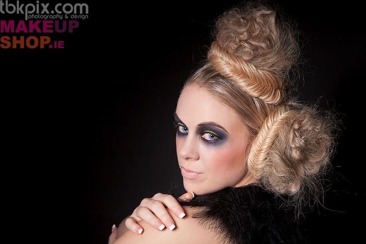 #LASplashCosmetics Makeup by #MAMUskinartist & photographer #tbkpix for #makeupshop.ie hair by #gemmacrossan model #joanne