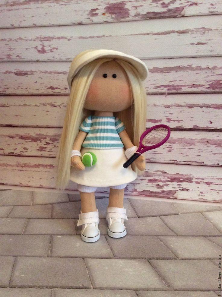 Купить Мария - комбинированный, кукла ручной работы, кукла в подарок, кукла интерьерная, кукла текстильная