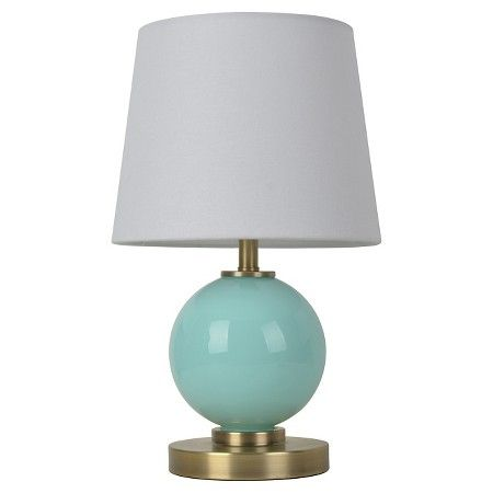 Glass Ball Table Lamp with Touch On/Off (Includes CFL bulb) - Pillowfort™