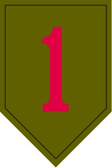 "The 1st Infantry Division is a combined arms division of the United States Army , and is the oldest continuously serving in the Regular Army .  It has seen continuous service since its organization in 1917 during World War I .  It was officially nicknamed ""The Big Red One"" (abbreviated ""BRO"" ) after its shoulder patch and is also nicknamed ""The Fighting First"".  However, the division has also received troop monikers of ""The Big Dead One"" and ""The Bloody First"" as puns on the respective…"
