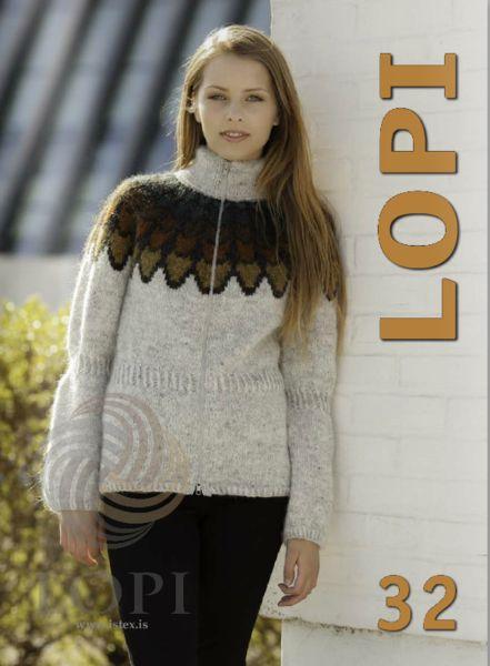 - Icelandic Lopi Pattern Book No. 32 - Book - Nordic Store Icelandic Wool Sweaters