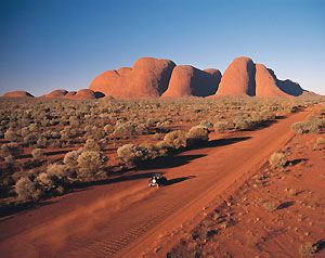 Kata Tjuta (The Olgas) in Australia's Outback. Northern Territory