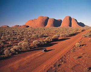 Kata Tjuta (The Olgas) in Australia's Outback. Northern Territory