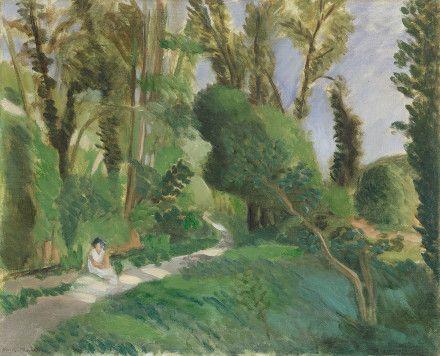 Les Gorges du Loup / Henri Matisse / 1920/25 / oil on canvas