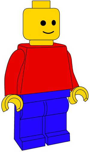 How To Draw A Lego Minifigure With Easy Step By Step