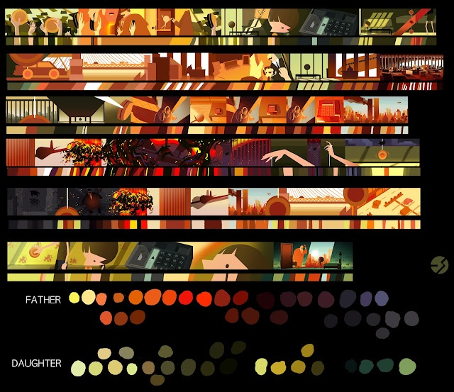 colorscript by Eusong Lee   Ugh I love color scripts a lot.