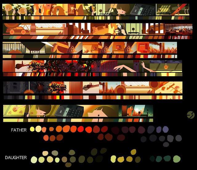 colorscript by Eusong Lee | Ugh I love color scripts a lot.
