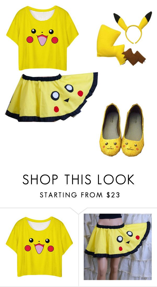 """""""Pika....CHU!!!"""" by fangirlingforeverz ❤ liked on Polyvore"""