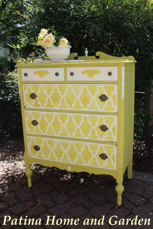 1641 best PAINTED FURNITURE images on Pinterest